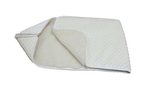 WHITE Baby Swaddle Wrap deken/slaapzak/Snuggle wrap/Horn.BABY BEDDING babybedje. Geschikt als cadeau.