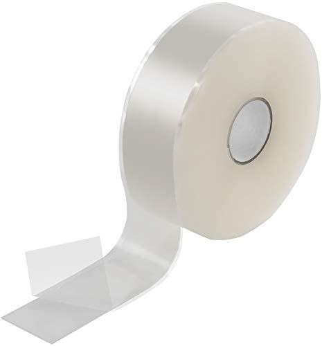 Poppstar 11m selbstverschweißendes Silikonband, Silikon Tape Reparaturband, Isolierband und Dichtungsband (Wasser, Luft), 25mm breit, transparent