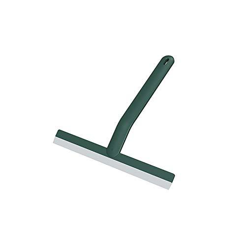 HFZY Limpiacristales de plástico profesional 25 cm multiusos para limpieza de ventanas de vidrio para ventanas de cristal de ducha, puerta de coche, parabrisas, color verde