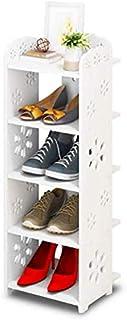 Étagère de Rangement pour étagère à Chaussures Organisateur d'armoire à 5 Niveaux Welly Boot Rack Slim Shoe Storage Easy A...