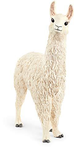 Schleich Farm World  Animal Figurine  Farm Toys for Boys and Girls 3-8 years old  Llama