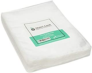Nutri-Lock Vacuum Sealer Bags. 100 Quart Bags 8x12 Inch. Commercial Grade Food Sealer Bags for FoodSaver, Sous Vide