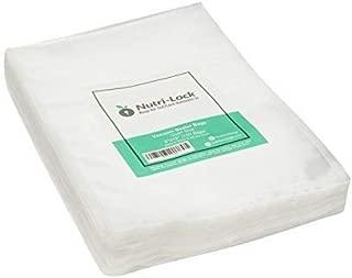 Nutri-Lock Vacuum Sealer Bags. 100 Quart Bags 8x12 Inch. Commercial Grade Food Sealer Bags for FoodSaver, Sous Vide