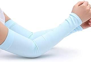 Heyean Arm Sleeves Sun Protection, Cooling Arm Sleeves Seamless, UV Protection Cooling Arm Sleeves for Running, Cycling, Fishing, Golf, Volleyball, Basketball, Baseball, Football