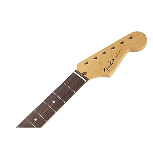 Fender USA 純正パーツ American Deluxe Stratocaster Neck 22 Medium Jumbo Frets, Compound Radius Rosewood 999000921 並行輸入品