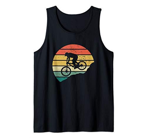 Mountain Bike MTB Downhill Biking Cycling Vintage Gift Tank Top