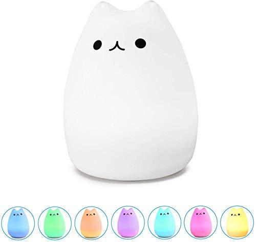 Led-nachtlampje kat Lucky Cat