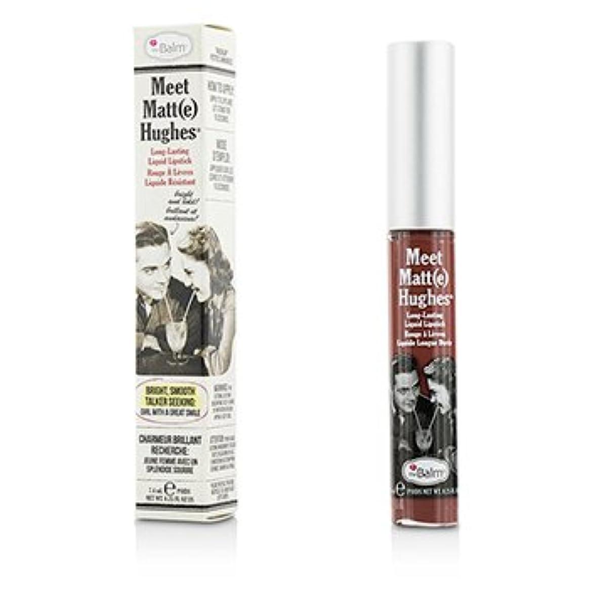 自体ホバー尽きる[TheBalm] Meet Matte Hughes Long Lasting Liquid Lipstick - Charming 7.4ml/0.25oz