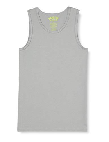 Sanetta Jungen Unterhemd Jumbo Unterwäsche, grau, 128