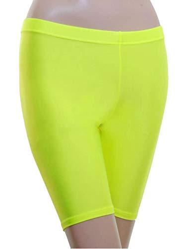 REAL LEVEN FASHION LTD. dames Neon Fietsen Shorts Womens Elastische Actieve Gym Sport slijtage hete broek