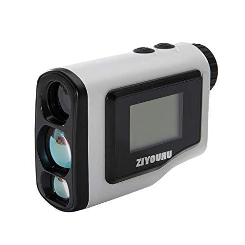 LSHUNYDE Golfzubehör Golf Lrf Entfernungsmesser mit LCD-Bildschirm Zielfernrohr Entfernung Geschwindigkeit Schnellmesser Laser Entfernungsmesser Entfernungsfernrohr