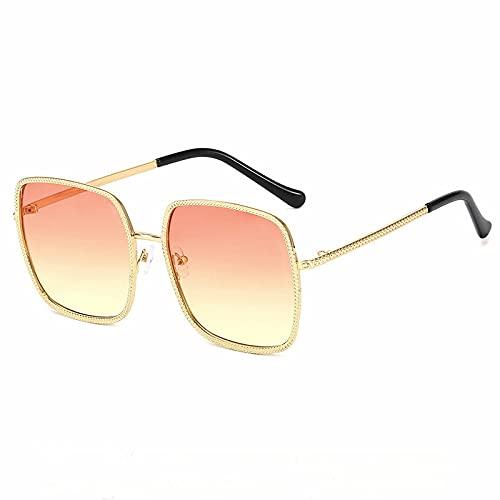 XINMAN Gafas De Sol Personalizadas A Prueba De Viento Gafas De Sol con Cadena De Moda Gafas De Sol Trend Street Shooting Wild Glasses