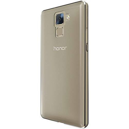 ebestStar - Huawei Honor 7 Hülle Handyhülle [Ultra Dünn], Premium Durchsichtige Klar TPU Schutzhülle, Soft Flex Silikon, Transparent + Panzerglas Schutzfolie [Honor 7: 143.2 x 71.9 x 8.5mm, 5.2''] - 4