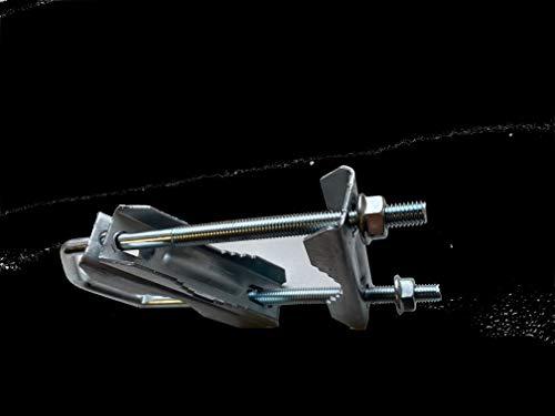 HD-Line RS-9WJK-2QZ0 Collier pour Fixation d'antenne Argent