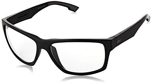 Quiksilver Trailway Adapt Gafas De Sol, Hombre, Black/Grey/Grey-Combo, 1Sz