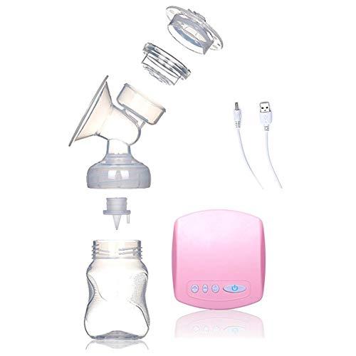 Kuyoly Bomba de leche de bombeo de leche de succión grande automática de masaje posparto bomba de pecho eléctrica no manual