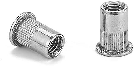 2-30 stuks platte kop klinknagel moer roestvrij staal m3 m4 m5 m6 m8 m10 m12 klinkmoer verzinkt cap klinknagel schroefdraa...
