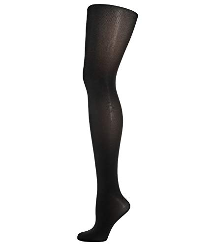 Wolford Damen Satin Opaque 50, Frauen Strumpfhose black, XL