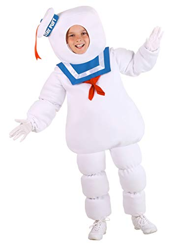 Ghostbusters Stay Puft Costume for Kids X-Large