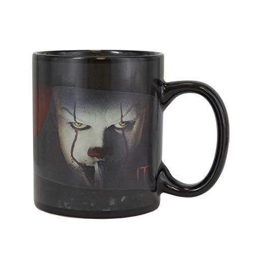 Paladone PP5155IT Pennywise Kaffeebecher mit Wärmewechsel, aus Keramik, 300 ml