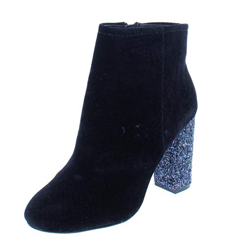 Call It Spring Talcahuano Booties Black Velvet 6.5M