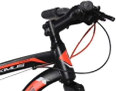 KROSS Men's Maximus Pro 26T Single Speed Road Front Shocker and Disc Brake Black Bicycle For Boys With Steel Frame - Age 13 plus Years