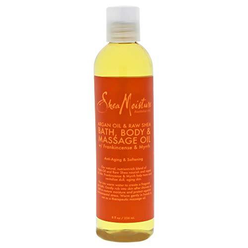 SHEA MOISTURE Argan Oil & Raw Shea Bath-Body & Massage Oil