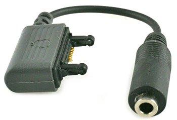 Audio Adapter / Musikadapter fuer Sony Ericsson D750i | J220i | J230i | K750i | P990i | S600i | W550i | W800i | W900i | Z520i zum Anschluss von Headsets, Kopfhoerern, Musik Anlage etc. mit 3,5mm Klinken Anschluss!