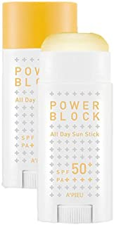 [A'PIEU] Power Block All Day Sun Stick SPF50+ PA++++ 50ml