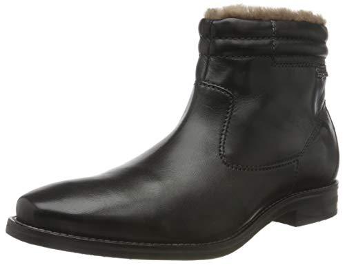 bugatti Herren 311818404100 Klassische Stiefel, Schwarz, 44 EU