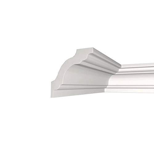 A la Maison Ceilings KL130 Brian Crown Molding, White
