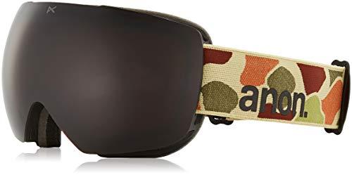 Anon Herren MIG MFI Snowboardbrille, Duck Camo/Sonar Smoke