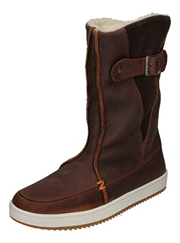 Hub Footwear Damenschuhe - Booties Snow 2.0 Dark Brown, Größe:38 EU