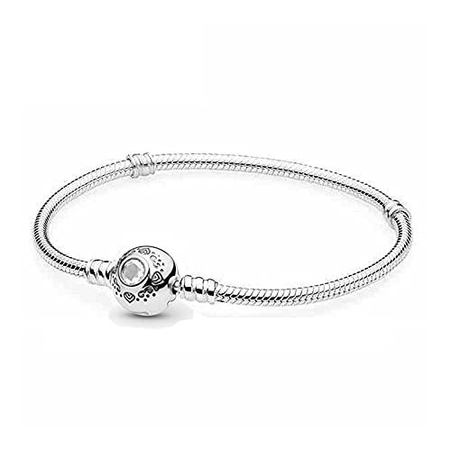 YFZCLYZAXET Pulseras Brazalete Joyería Mujer Pulsera De Plata Esterlina 925, Pulsera Brillante para Mujer, Cadena Jewelry-A_16Cm