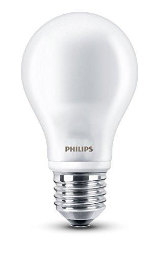 Philips LEDclassic Lampe ersetzt 60 W, EEK A++, E27, warmweiß (2700 Kelvin), 806 Lumen, klar, 8718696472187