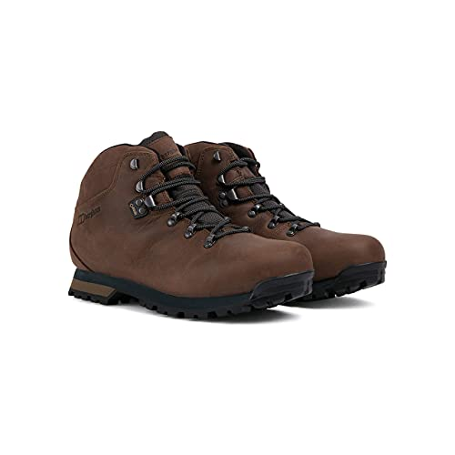 Berghaus Herren Hillwalker II Gore-Tex Wasserdicht Trekking-& Wanderstiefel, Chocolate Brown, 43 EU