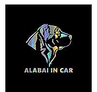 車 ステッカー 15Cm * 15Cm 車のペットの犬の素敵なステッカー防水デカールラップトップオートバイ自動装飾アクセサリーPvc、