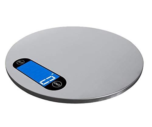 RSGK Báscula de Cocina electrónica Digital para Alimentos, Utilizada para cocinar y Hornear Alimentos de Alta precisión, Pantalla LCD, función de pelado, diseño Colgante
