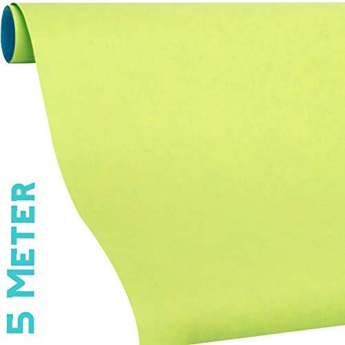 Geschenkpapier 2 farbig. Türkis und hellgrün, Geschenkpapier Rolle 5 Meter. Gratis dazu: 9x Geschenkanhänger. Passt prima für Frühling, Ostern, Sommer, Geburtstag, DIY Basteln