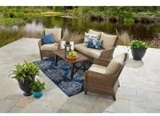 Better Homes & Gardens Camrose Farmhouse Outdoor Conversation Set