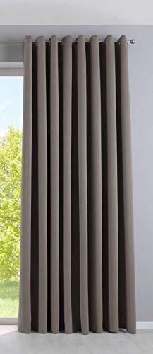 Cortina Opaca Newyork de 245 x 295 cm, 1 Unidad, Cortina térmica, Opaca, con Ojales, insonorizante, con protección UV, 201920600
