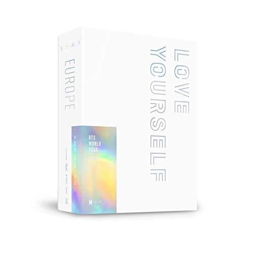 Bighit Ent BTS Bangtan Boys - BTS World Tour Love Yourself Europe Blu-ray+Extra Photocards Set