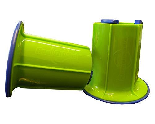 Abroller-Set für Stretchfolie Handwickelfolie, einfache Anwendung, grün thumbnail