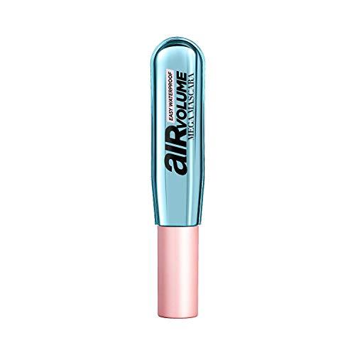 L'Oréal Paris Air Volume Mega Mascara Easy Waterproof Mascara, für intensives Mega Volumen, bis zu 48H Halt, leichte Warmwasse-Entfernung