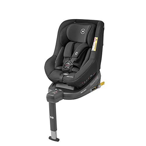 Bébé Confort Beryl Seggiolino Auto Isofix, 0-25 Kg, per Bambini fino a 7 Anni, Reclinabile 5 Posizioni, con Riduttore per Neonati, Colore Nero