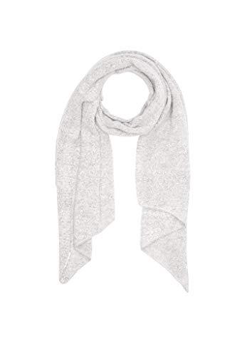 s.Oliver RED LABEL Damen Bouclé-Schal aus softer Qualität grey knit 1