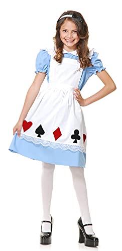 Charades Storybook Alice Children's Costume, Medium