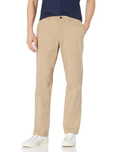 Amazon Essentials Regular-Fit Lightweight Stretch Pant Pantaloni, Cachi, 33W / 30L