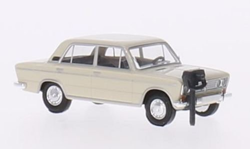 Lada 1500, weiss, 1973, Modellauto, Fertigmodell, Busch 1:87