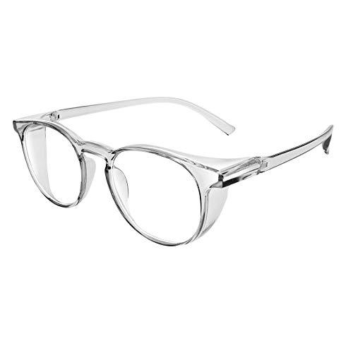 Julhold Gafas de sol polarizadas, ligeras, antiempañamiento para mujeres y hombres, con bloqueo de luz azul, lentes exteriores gradualmente tintadas protección UV, color, talla XL
